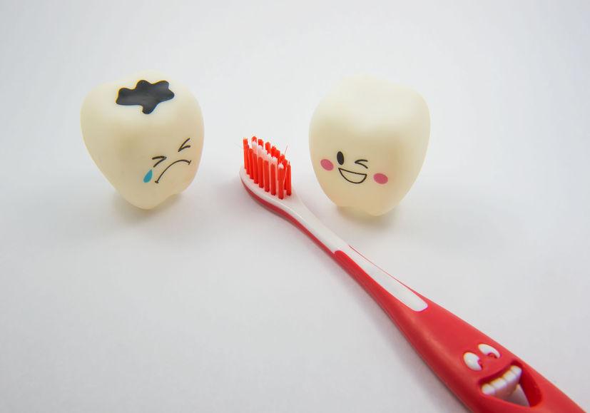 Denti e spazzolino