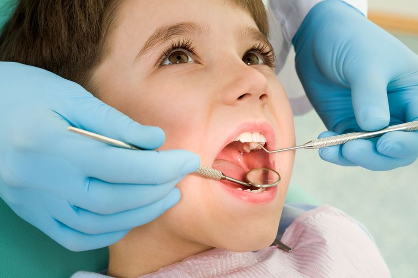Cosa fare quando si rompe un dentino del vostro bimbo