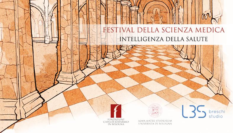 Il Prof. Lorenzo Breschi e Giovanni Zucchelli al Festival della Scienza Medica a Bologna