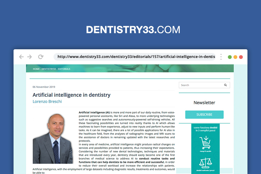 rassegna stampa lorenzo breschi dentista