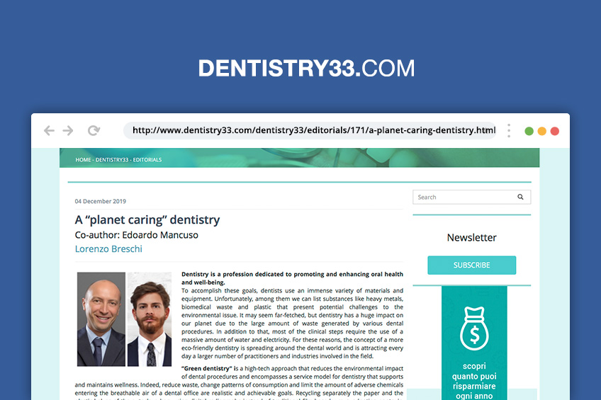 rassegna stampa breschi dentista